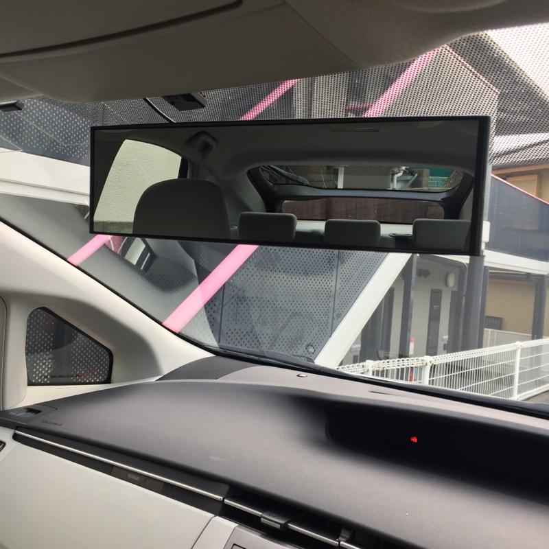CAR MATE / カーメイト 3000Rパーフェクトミラー 270mm クローム鏡 / M9