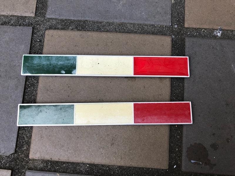 FLATOUT FLATOUT-フラットアウト- イタリア国旗アルミステッカー