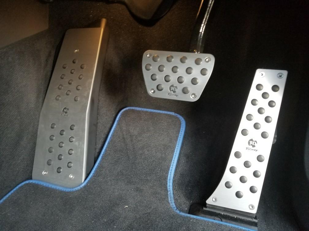 3D Design ATペダルセット&フットレスト