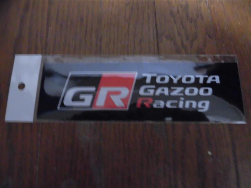 GR(ガズーレーシング) ステッカー