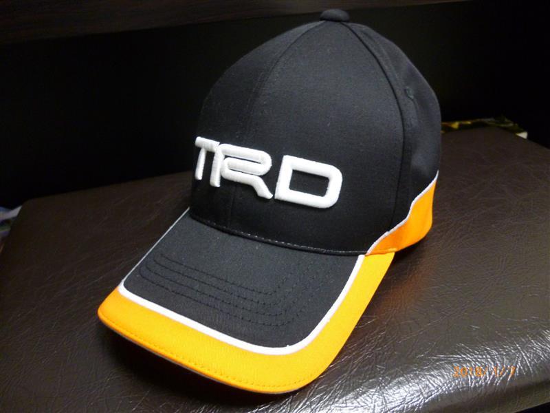 TRD / トヨタテクノクラフト ツイルキャップ オレンジ