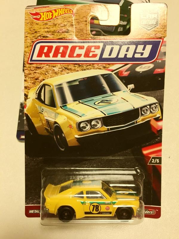 Mattel Hotwheels RACE DAY MAZDA RX-3
