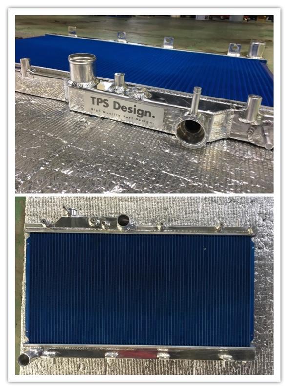 TPS Design. アルミ2層式ラジエーター