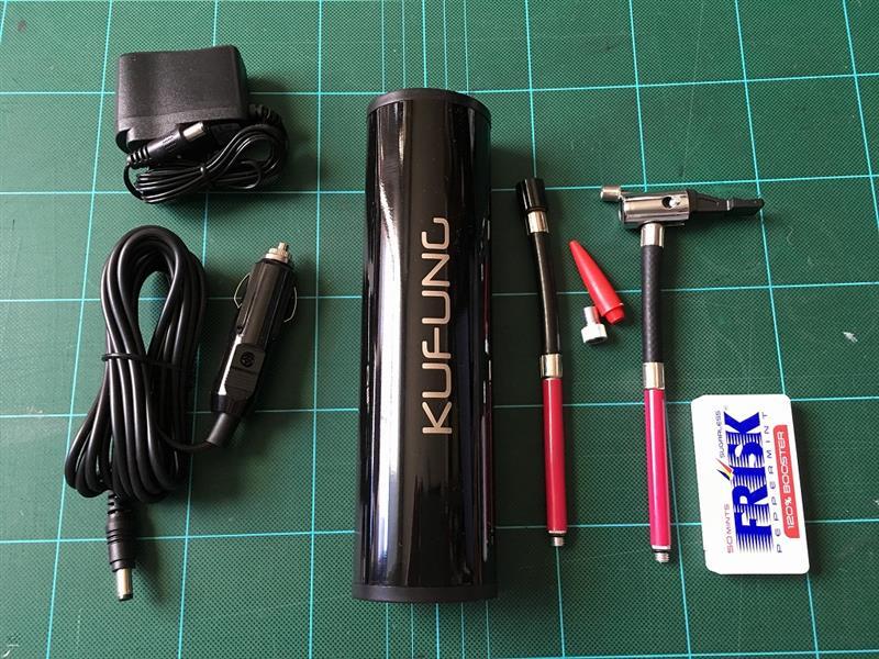 KUFUNG 12V充電式空気入れ 小型電動ポンプ