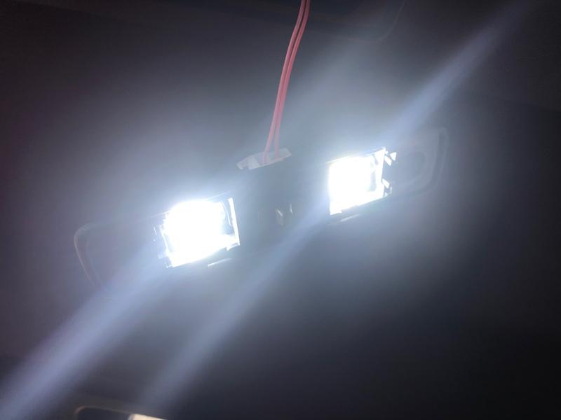 Limey Premium T10×28mm LED ホワイト 白 30連 ルームランプ