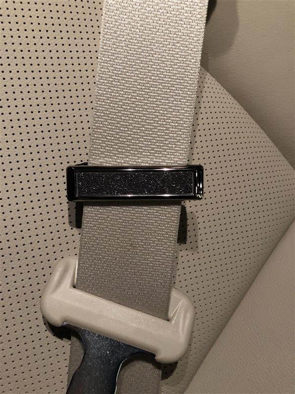 SEIWA CRASH STONE W716 スリムシートベルトストッパー