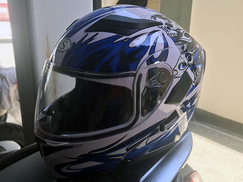 不明 AIS-805 バイクシステムヘルメット フルフェイス