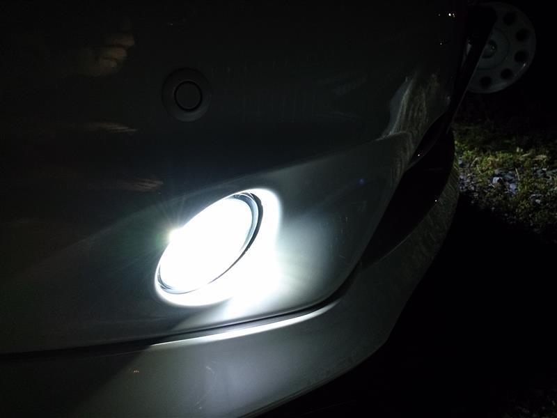 ピカキュウ LED MONSTER L5500 LEDフォグランプキット LEDカラー:ホワイト6500K バルブ規格:H8/H11/H16・HB4