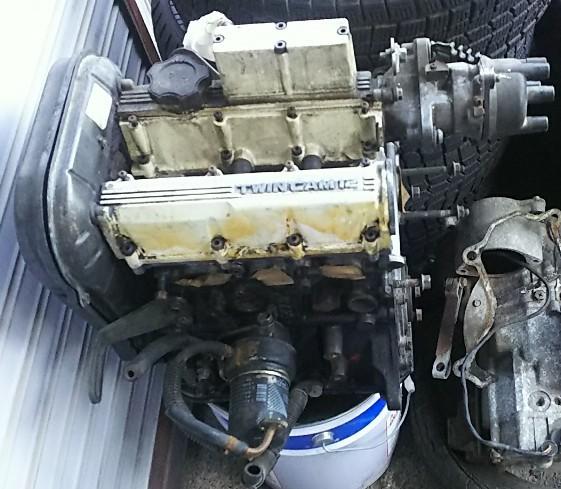 スズキ(純正) F5Aツインカムターボエンジン