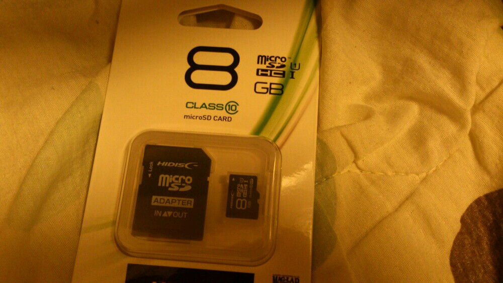MAG-LAB 8GB SDカード