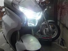 VFR1200FSafego LED ヘッドライトバルブの全体画像