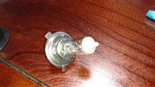 ランドクルーザー60IPF 角型4灯ヘッドライト ハイビームの全体画像
