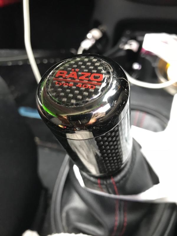 CAR MATE / カーメイト カーボンMTノブ ブラック400 ブラック / RA66