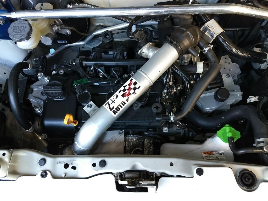 Z to AUTO HA36S・V アルト NA AGS用 エアクリーナー付インテークパイプ