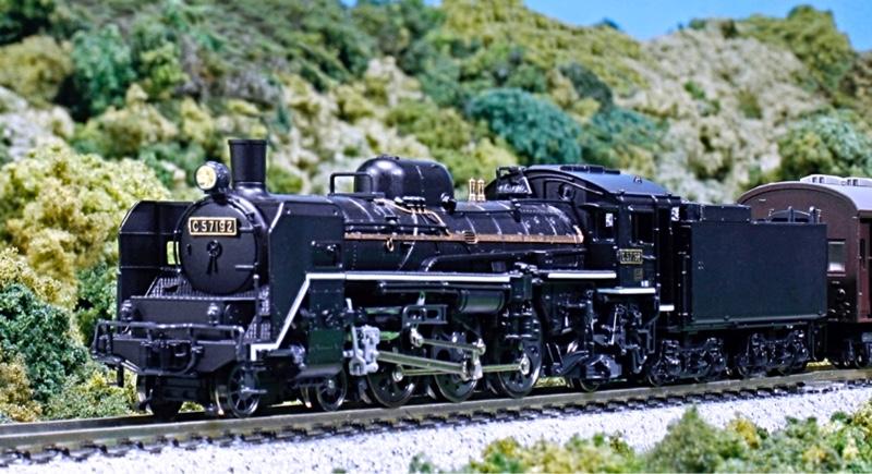 KATO / 株式会社関水金属 (N) 2024 C57 1次形 蒸気機関車