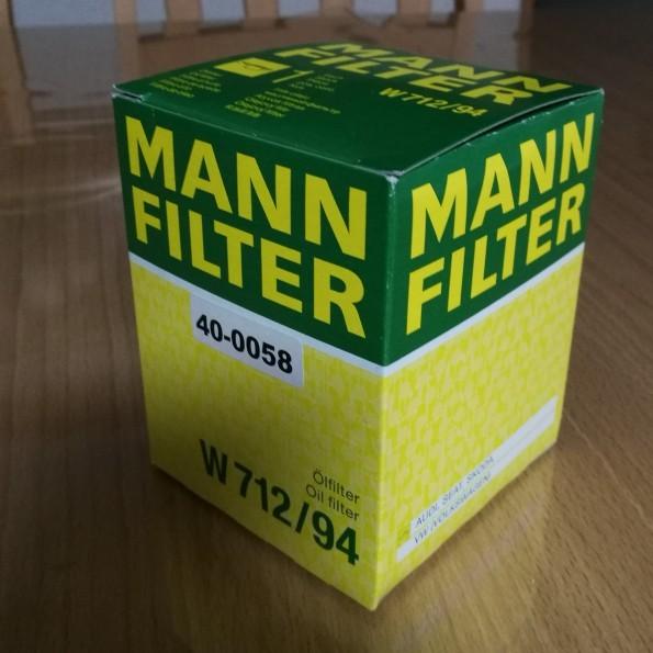 MANN+HUMMEL MANN-FILTER/オイルフィルター