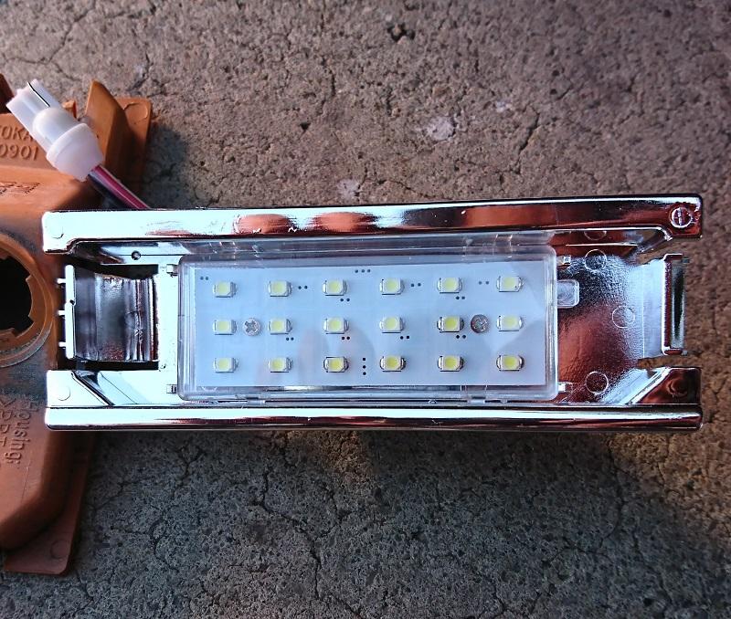 不明(ヤフオク) LED ライセンスランプ
