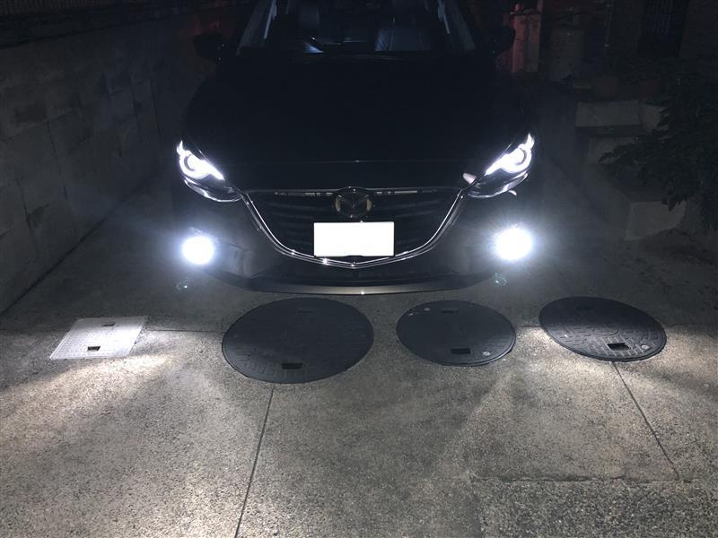 メーカー・ブランド不明 GNCY  2色切替LEDヘッドライト・フォグランプ