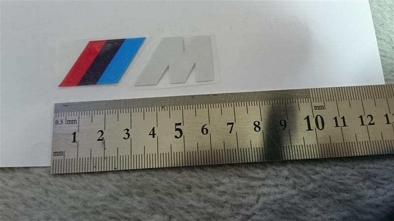 中国製 M ステッカー