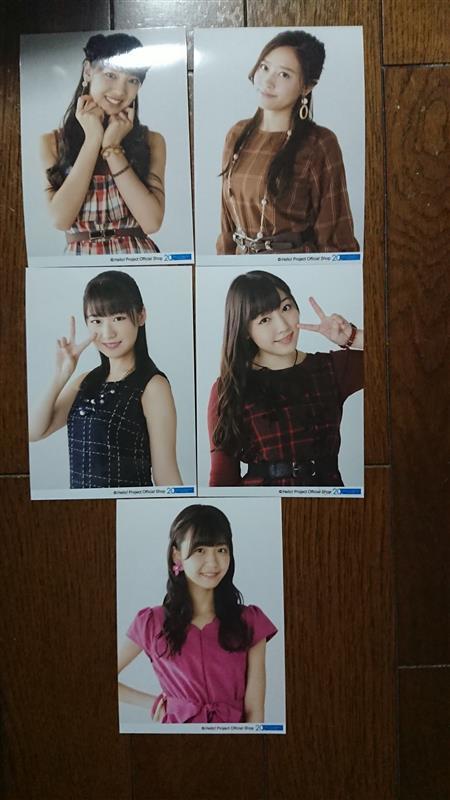 DCファクトリー ポストカードサイズ生写真 飯窪春菜、小田さくら、野中美希、譜久村聖、宮崎由加