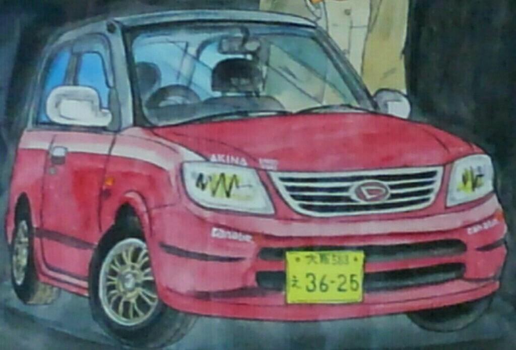 絵師『32乗り』さん描き下ろし 特製・愛車コラボイラスト
