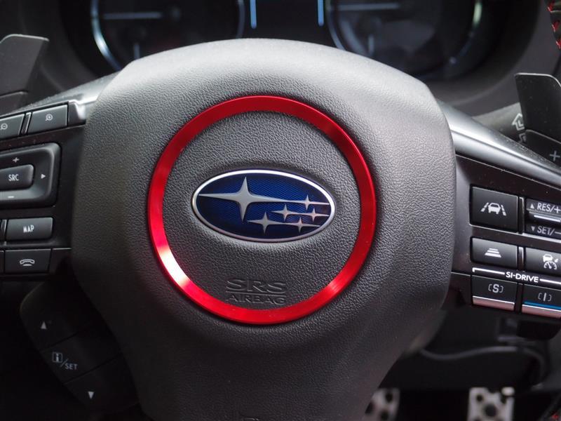 Audi アウディ 内装 ステアリングホイール センター 装飾リング カバー