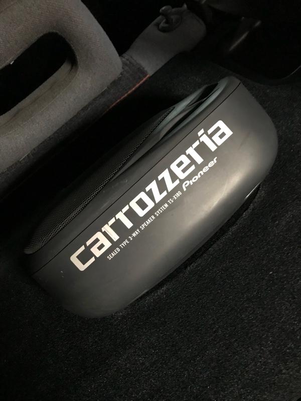 PIONEER / carrozzeria TS-X180