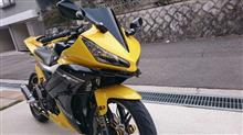 YZF-R15メーカー・ブランド不明 Aerodynamic Winglets style  Moto GP spoiler race fins Windshieldsの単体画像