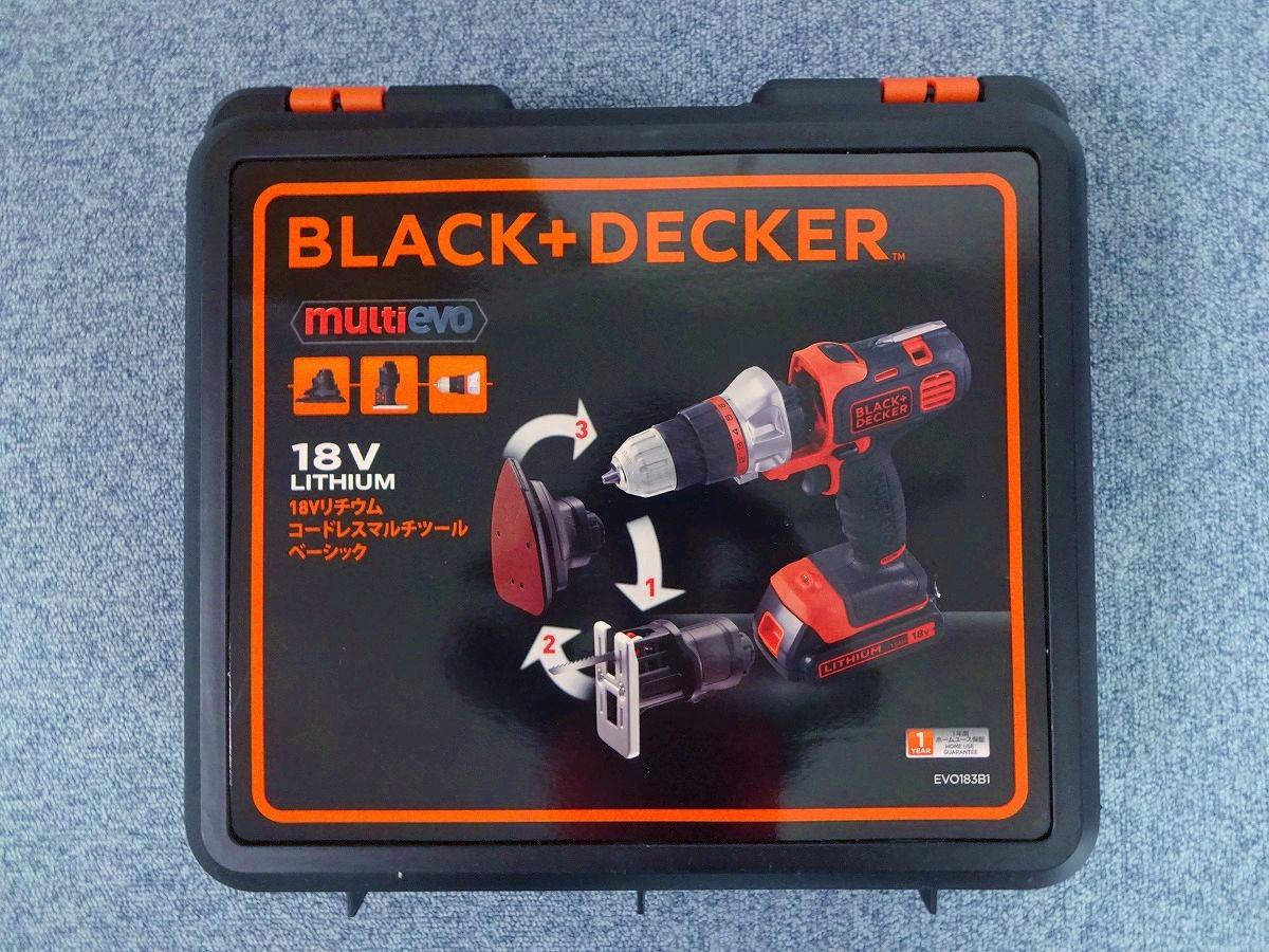 BLACK&DECKER マルチエボリューションシステム マルチツールベーシック EVO183B1