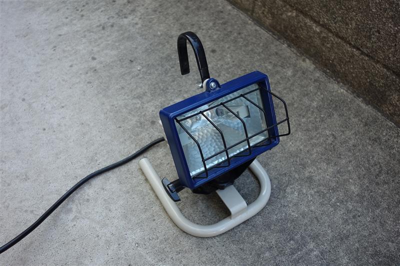 TAKAGI / 高儀 EARTH MAN 防雨タイプ ミニ作業用 ハロゲン投光器システム WLG-150