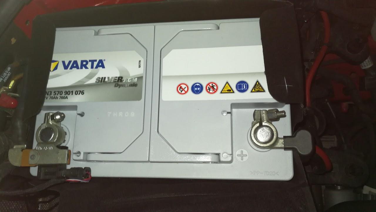 VARTA Silver Dynamic AGM LN3 E39(570 901 076)
