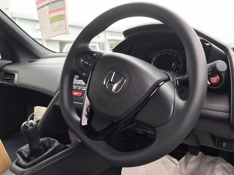 Modulo / Honda Access ステアリングホイール 本革製
