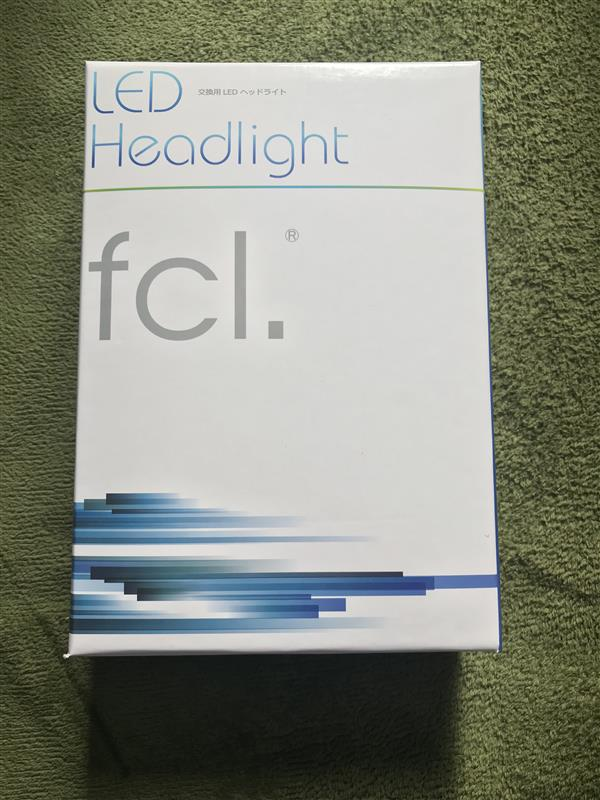 fcl.(エフシーエル) 新型LEDヘッドライト フォグランプ ファンレス(H8 H11 H16 HIR2 HB3 HB4)