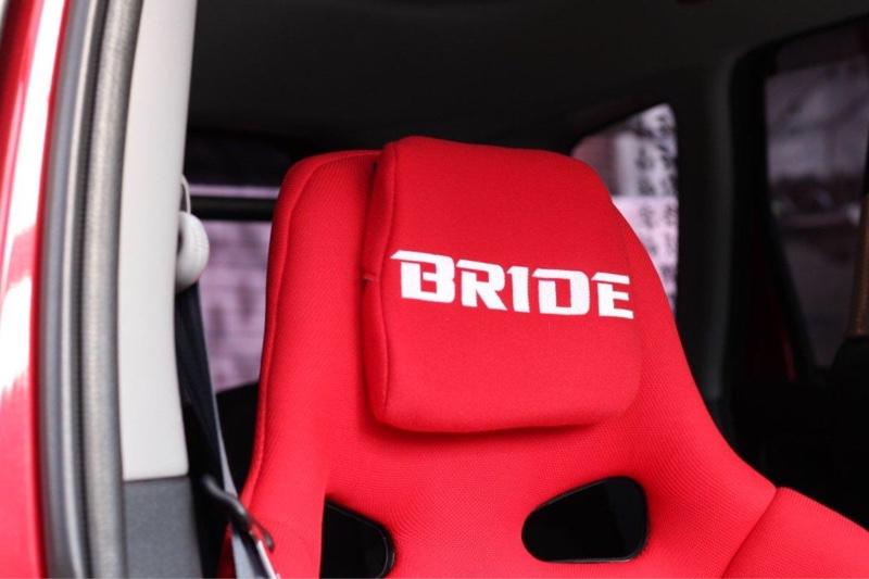 BRIDE チューニングパットセット (ヘッド用)