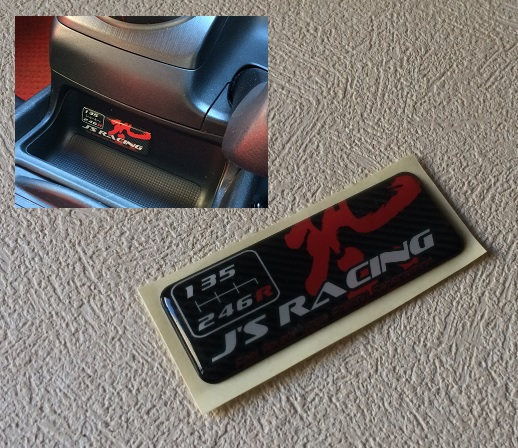 J'S RACING WAZAシフトパターンプレート 6MT