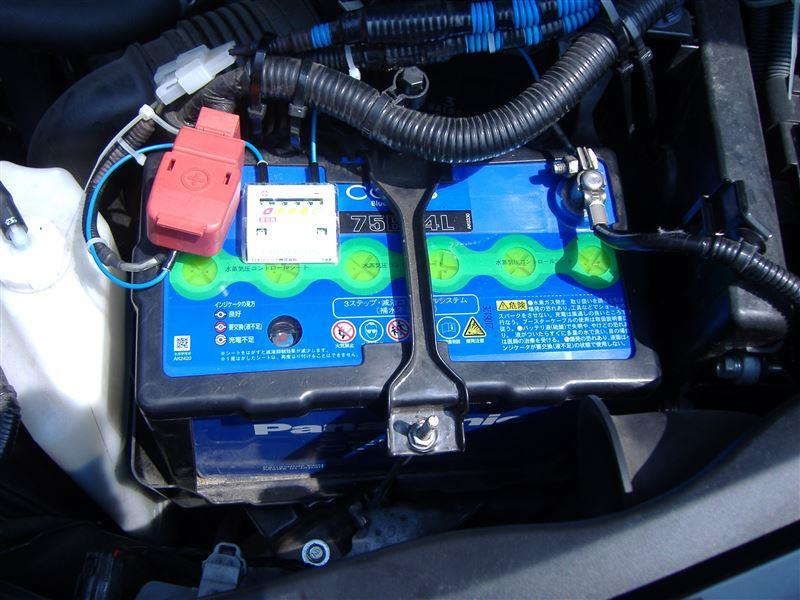 Panasonic Blue Battery caos Blue Battery caos N-75B24L/C4