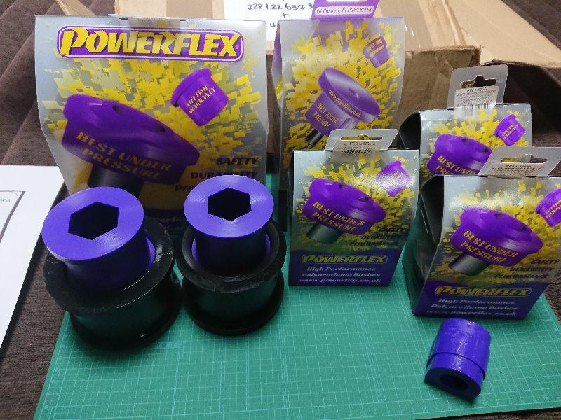 PowerFlex サスペンション強化ブッシュセット