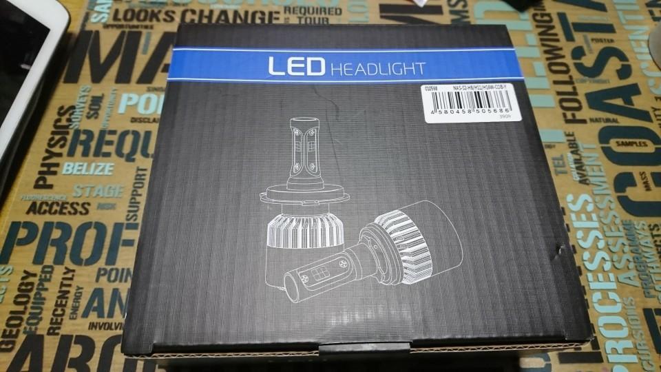中華製? LEDヘッドライトH8/H11/H16