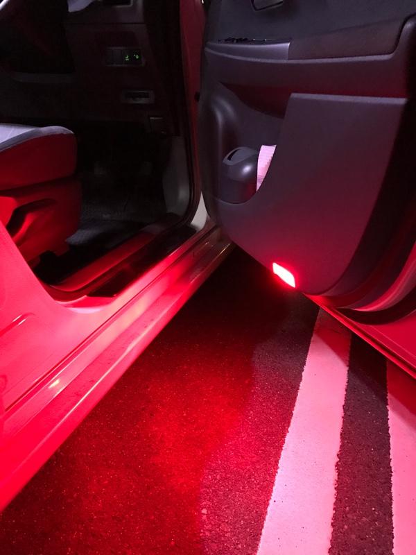 K'spec LED ドアカーテシランプ