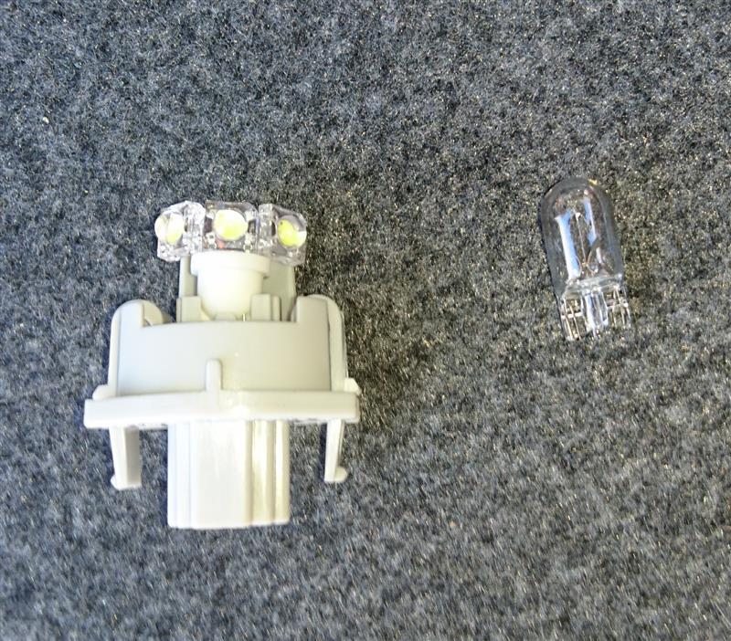 まめ電 N-one専用 ledライセンスランプ option3連
