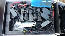 トリシティ汎用HID 6000K-H4の全体画像