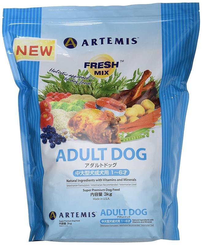ARTEMIS フレッシュミックス アダルトドッグ 3kg