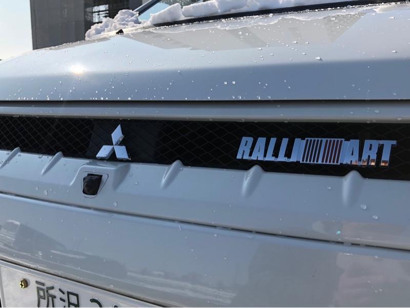 RALLIART ☆メール便☆2枚セット RALLIART ラリアート ABS製エンブレムステッカー RL-5600SV