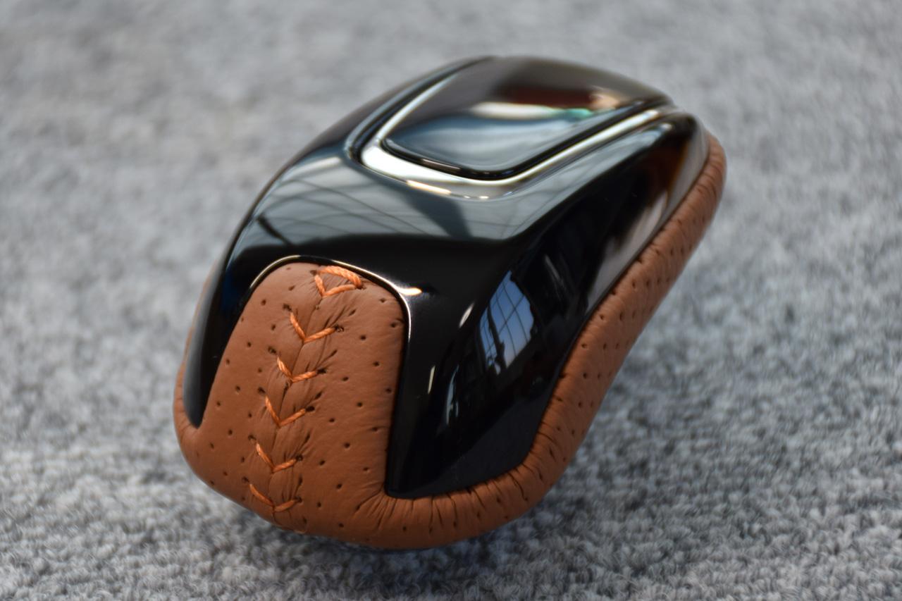 Leather Custom FIRST FIT  H/V用セレクトノブ本革巻き加工