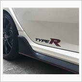 ホンダ(純正) サイドステッカー(TYPE R ロゴステッカー)