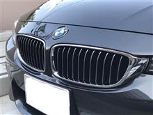4シリーズ グランクーペBMW(純正) Luxury Line キドニーグリルの全体画像