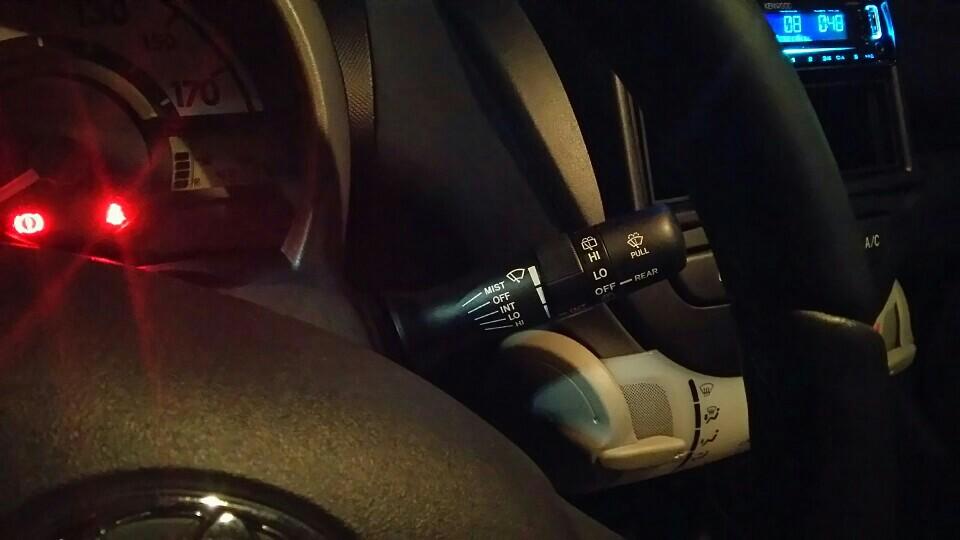 北米トヨタ純正 間欠時間調整付きワイパーレバー