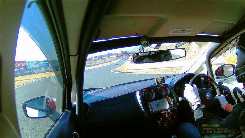 Longacre Racing 17インチ ワイドリアビューミラー