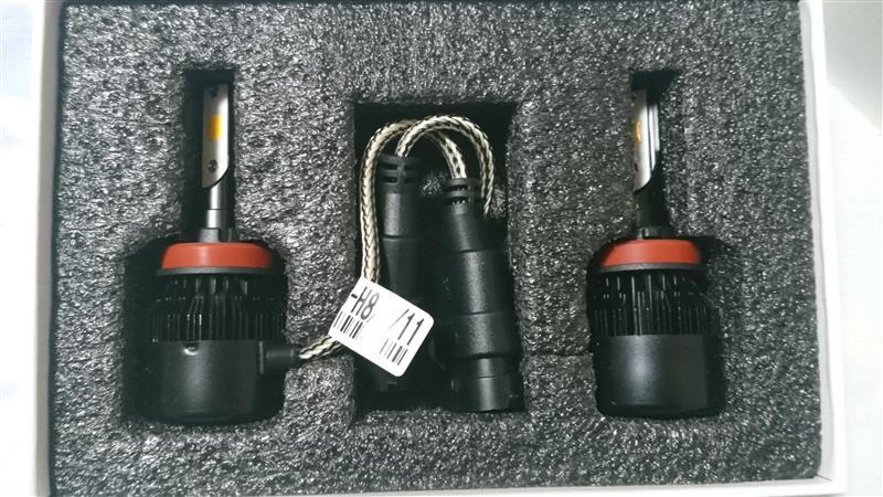POOPEE LEDフォグランプ H11 H8 H9 黄色-ポーペ(POOPEE) 車用ヘッドライト 一体型 DC12V COBチップ 30W 3200LM 高輝度 両面発光 3000Kイエロー