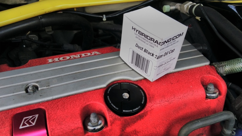 Hybrid Racing Slim Oil Cap